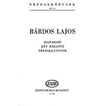 Editio Musica Budapest Népdalkórusok III (Mini Score) SATB Composed by Bárdos Lajos