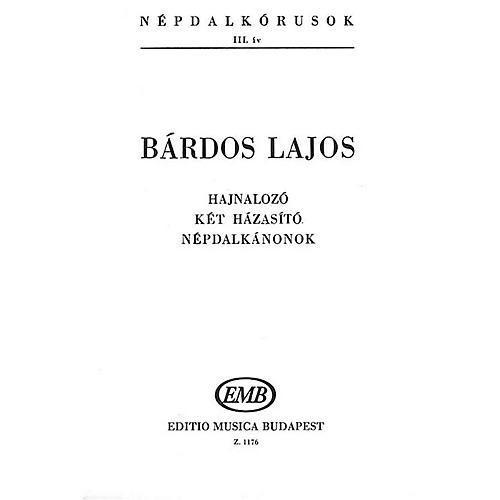 Editio Musica Budapest Népdalkórusok III (Mini Score) SATB Composed by Bárdos Lajos thumbnail