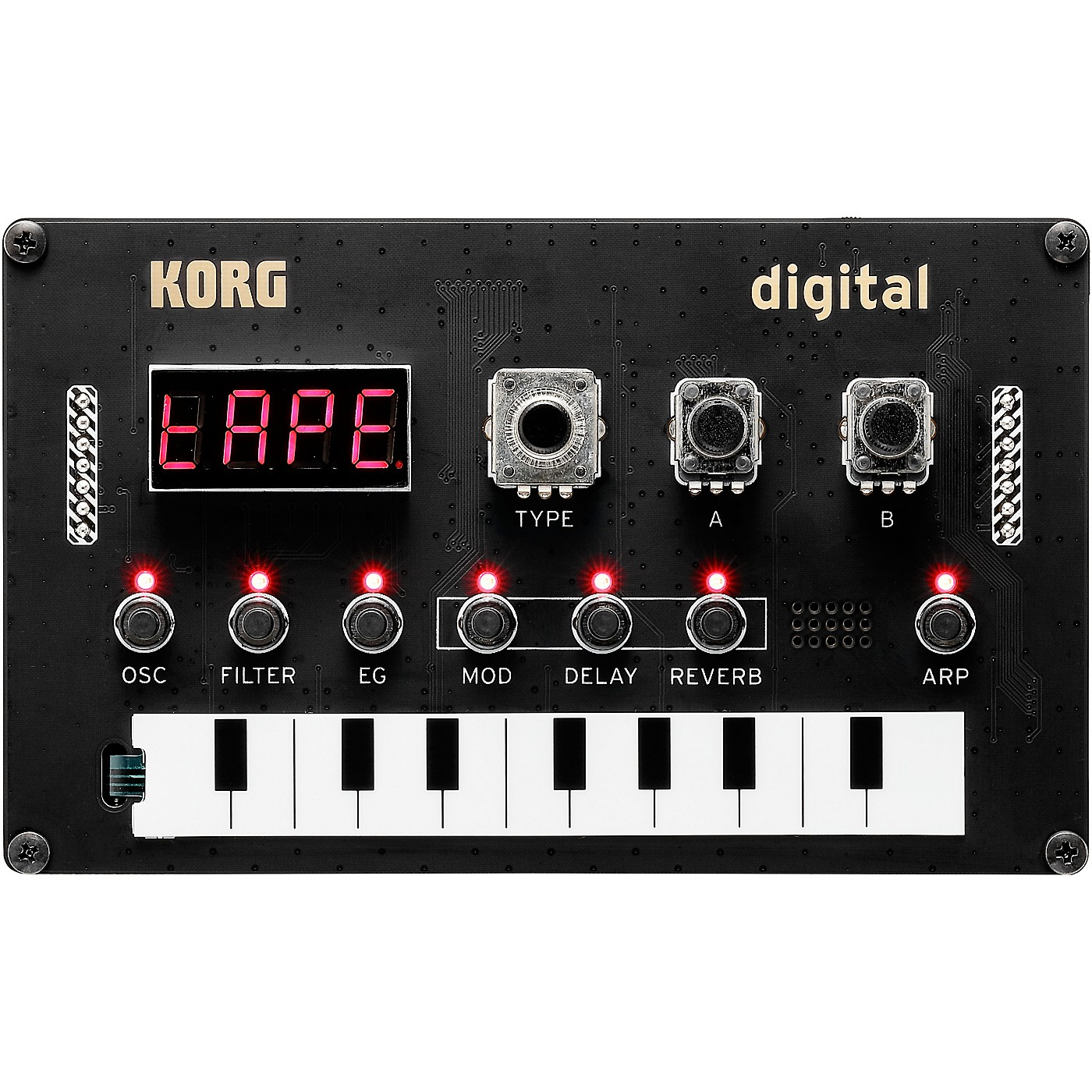 Korg Nu:Tekt NTS-1 Digital DIY Synthesizer thumbnail