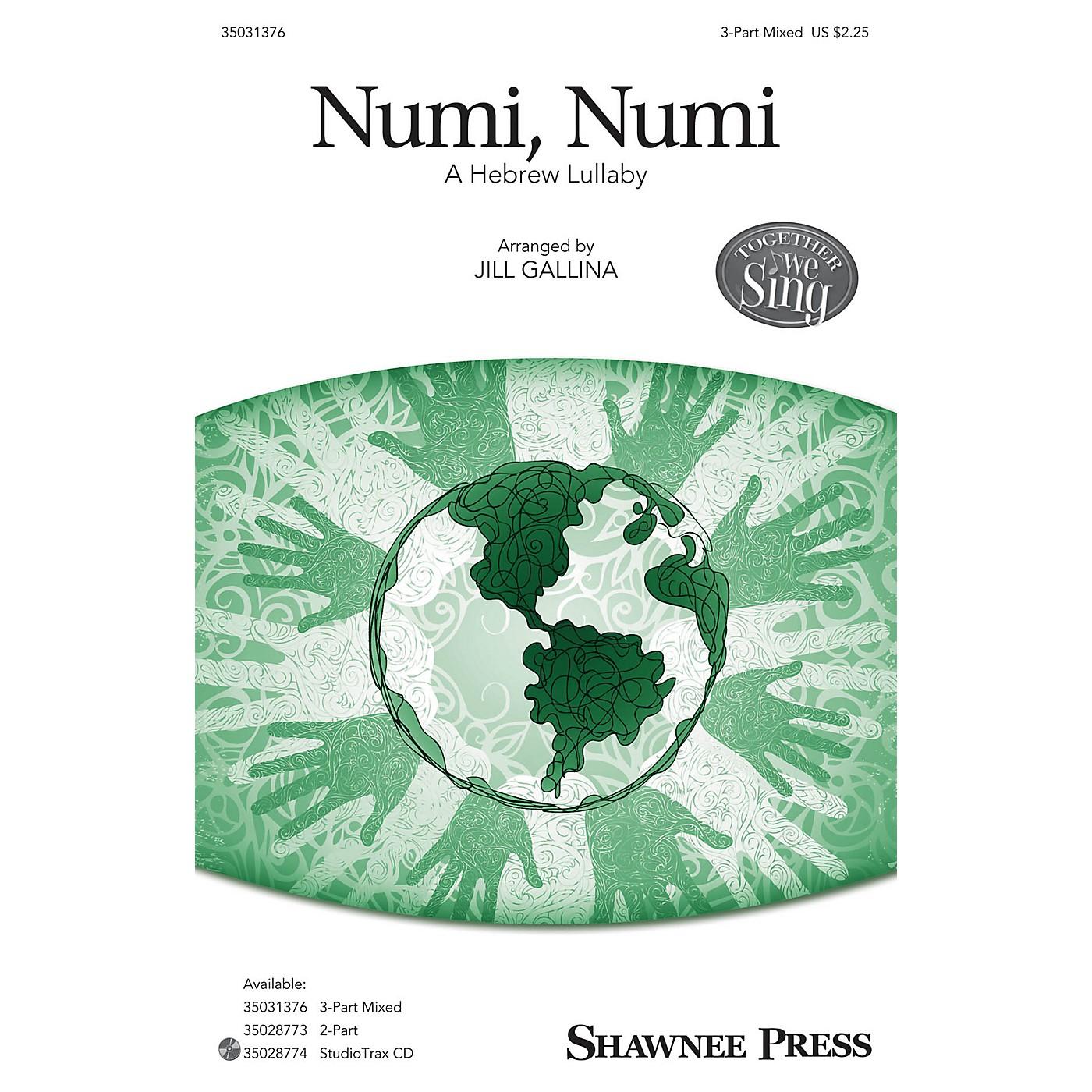 Shawnee Press Numi, Numi SAB arranged by Jill Gallina thumbnail