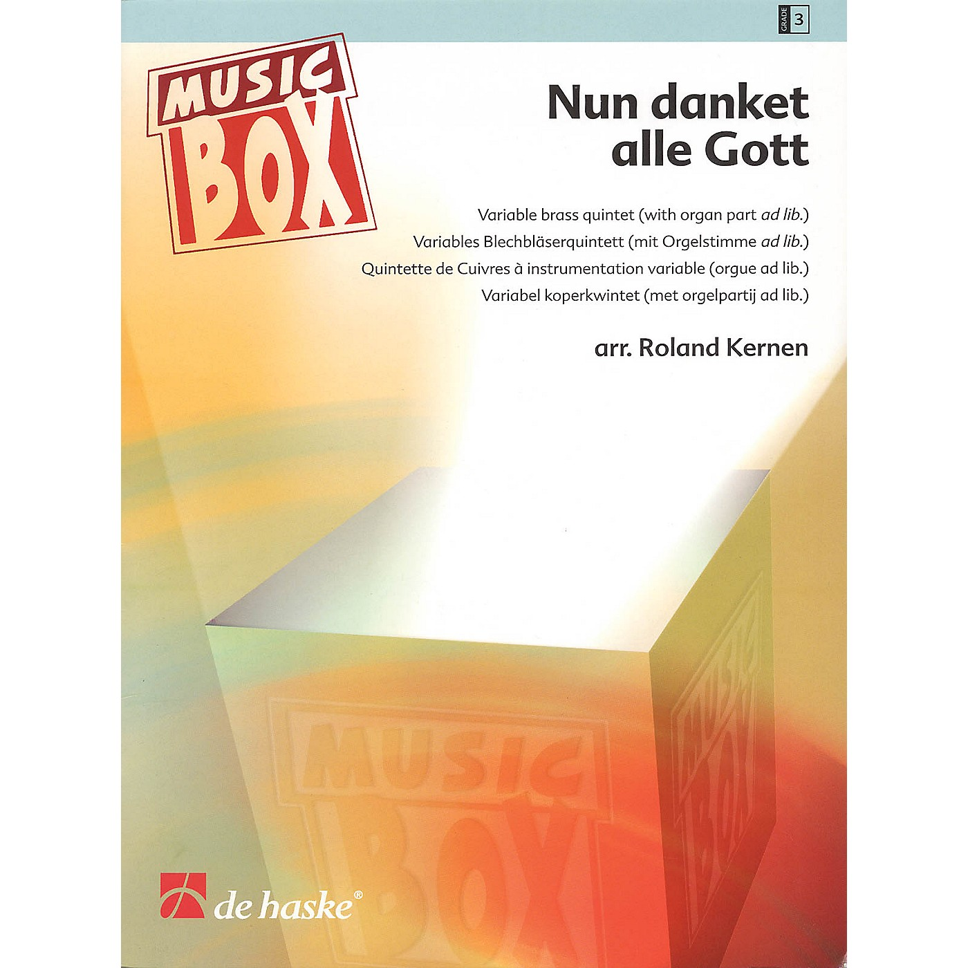 De Haske Music Nun danket alle Gott (Now Thank We All Our God) De Haske Ensemble Series Arranged by Roland Kernen thumbnail
