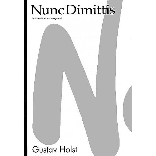 Novello Nunc Dimittis SATB Composed by Gustav Holst Arranged by Desmond Ratcliffe thumbnail
