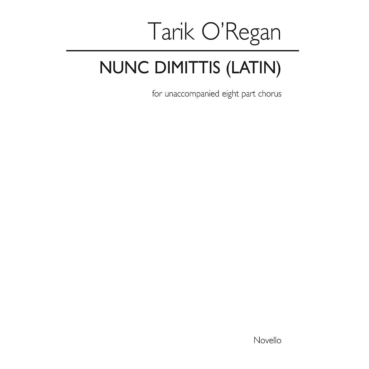 Novello Nunc Dimittis SSAATTBB Composed by Tarik O'Regan thumbnail