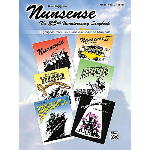 Alfred Nunsense: The 25th Nunniversary Songbook Vocal Selections Series Softcover thumbnail