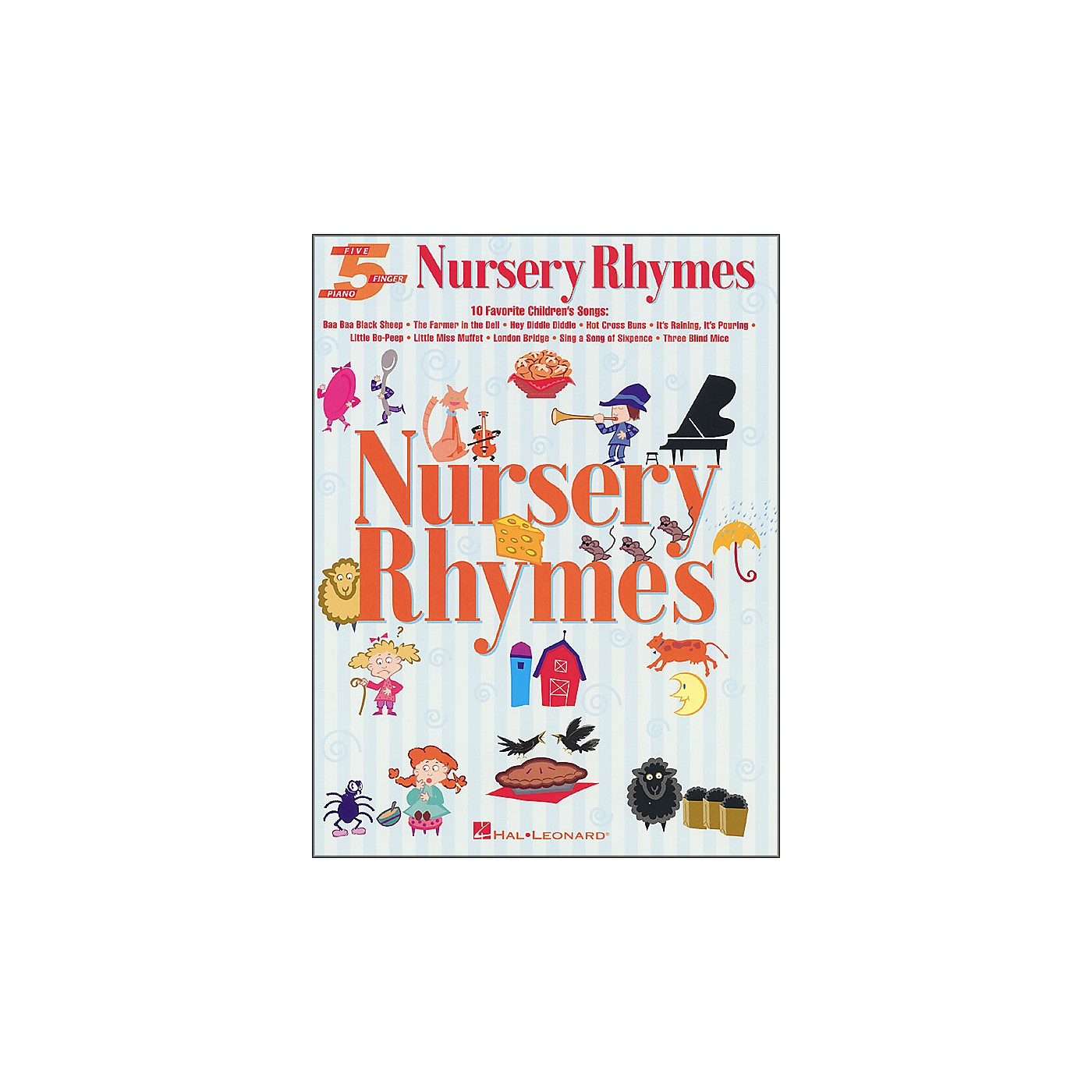 Hal Leonard Nursery Rhymes for Five Finger Piano thumbnail