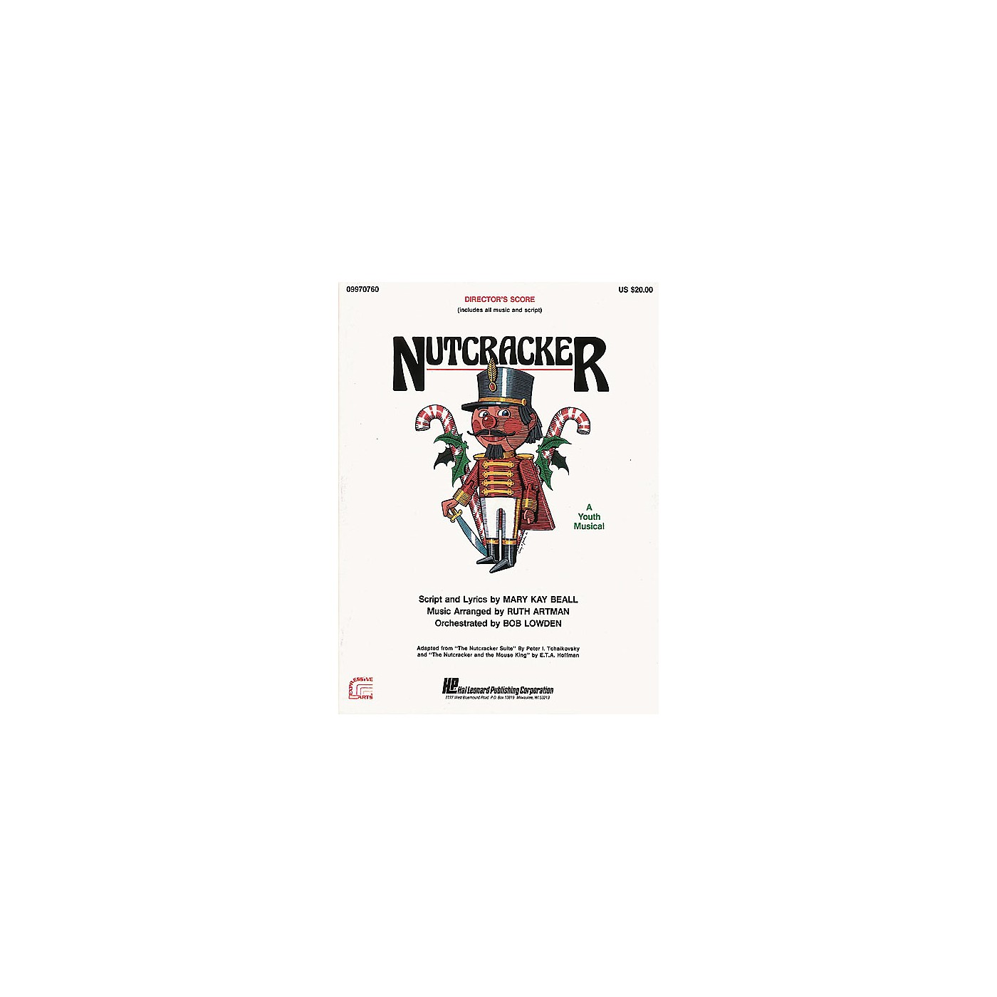 Hal Leonard Nutcracker (A Holiday Musical) TEACHER ED Arranged by Ruth Artman thumbnail