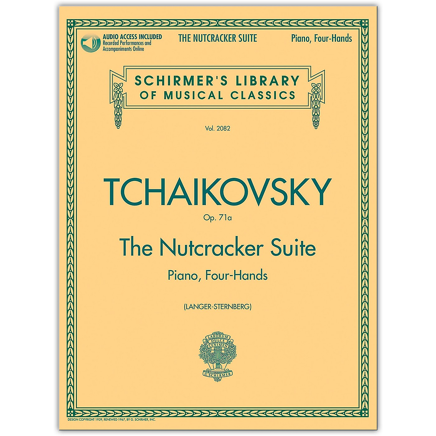 G. Schirmer Nutcracker Suite 1 Piano/ 4 Hands Schirmer Library Book/Online Audio thumbnail