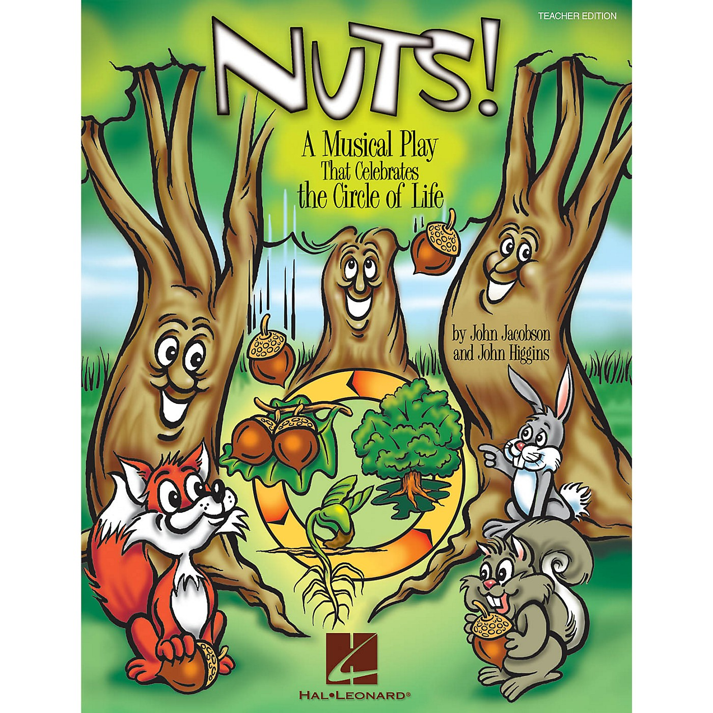 Hal Leonard Nuts! (A Musical That Celebrates the Circle of Life) ShowTrax CD Composed by John Higgins thumbnail