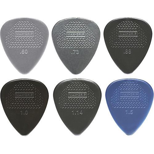 Dunlop Nylon Max Grip Guitar Picks - 12-Pack-thumbnail
