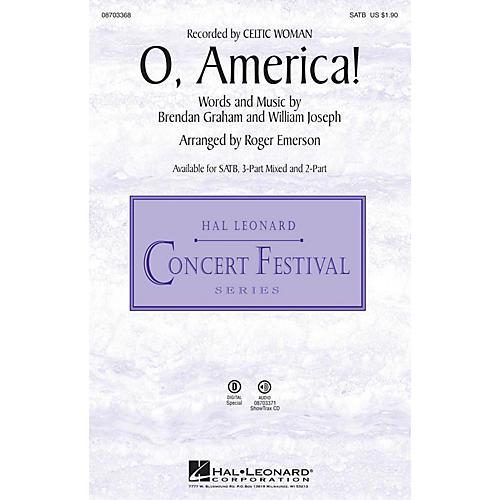 Hal Leonard O, America! 2-Part Arranged by Roger Emerson thumbnail