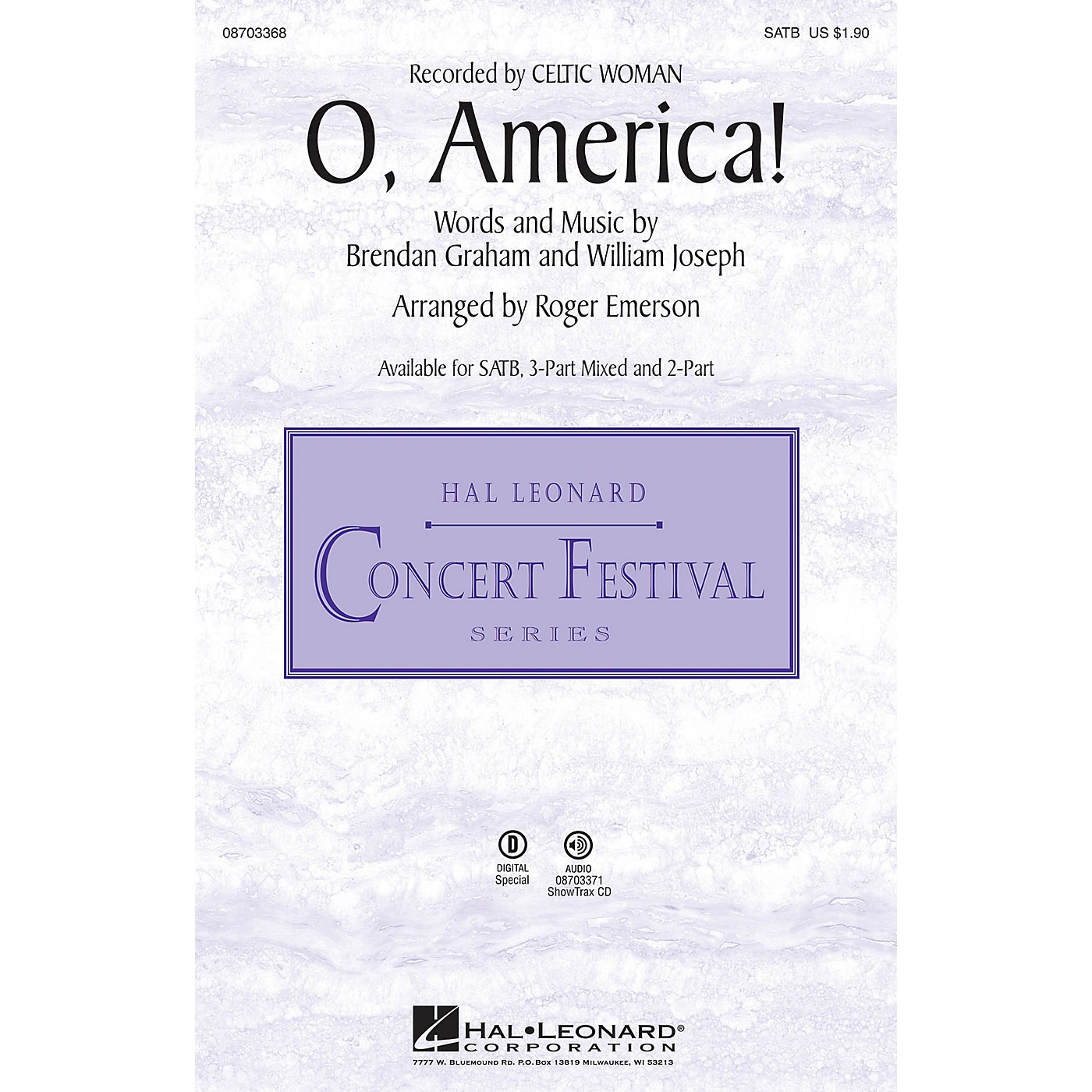 Hal Leonard O, America! SATB arranged by Roger Emerson thumbnail