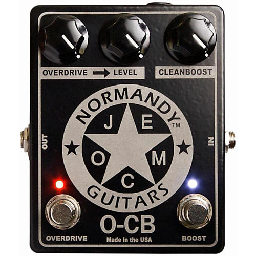 Normandy O-CB Overdrive-Clean Boost Guitar Effects Pedal thumbnail