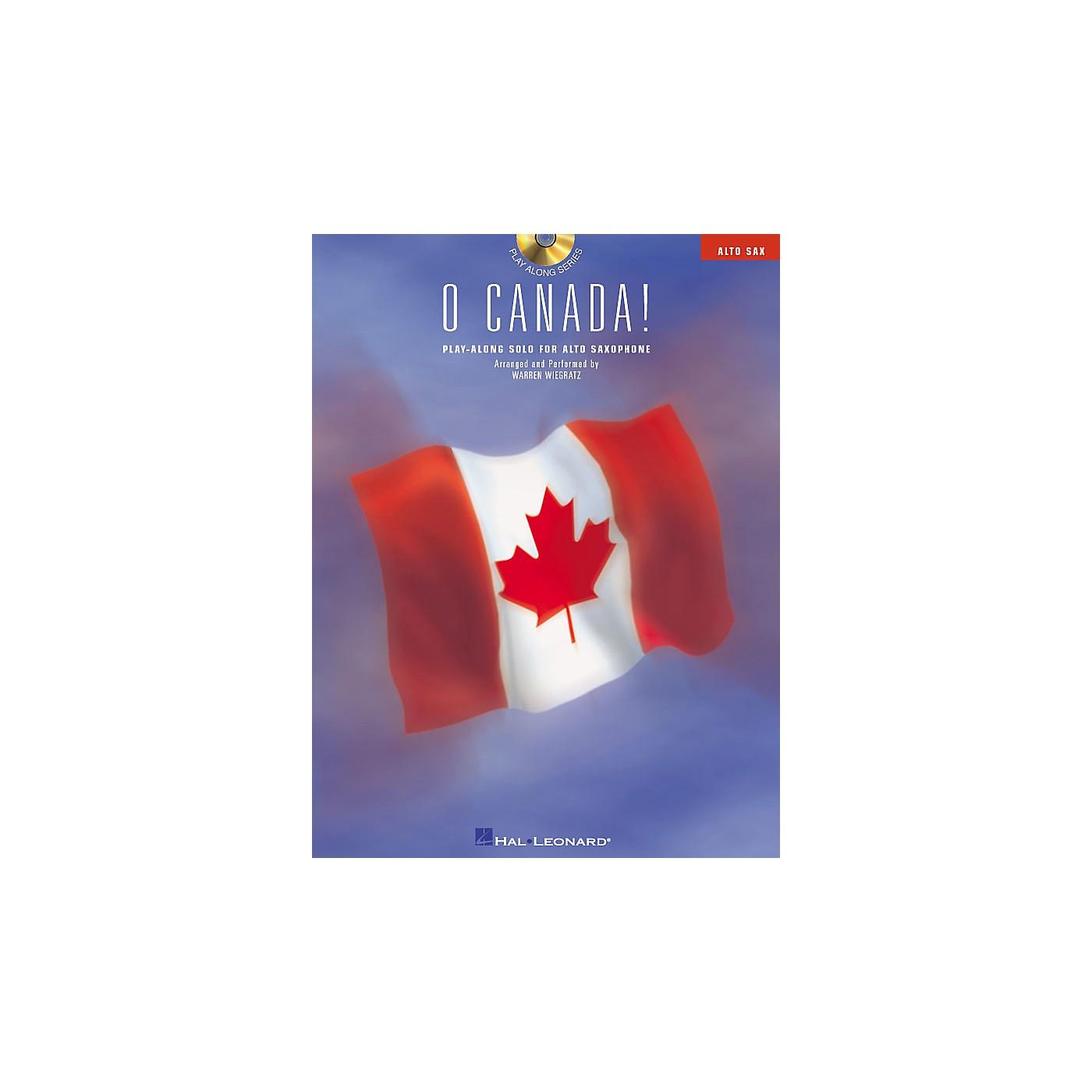 Hal Leonard O Canada! (Play-Along Solo for Alto Saxophone) Instrumental Folio Series CD thumbnail