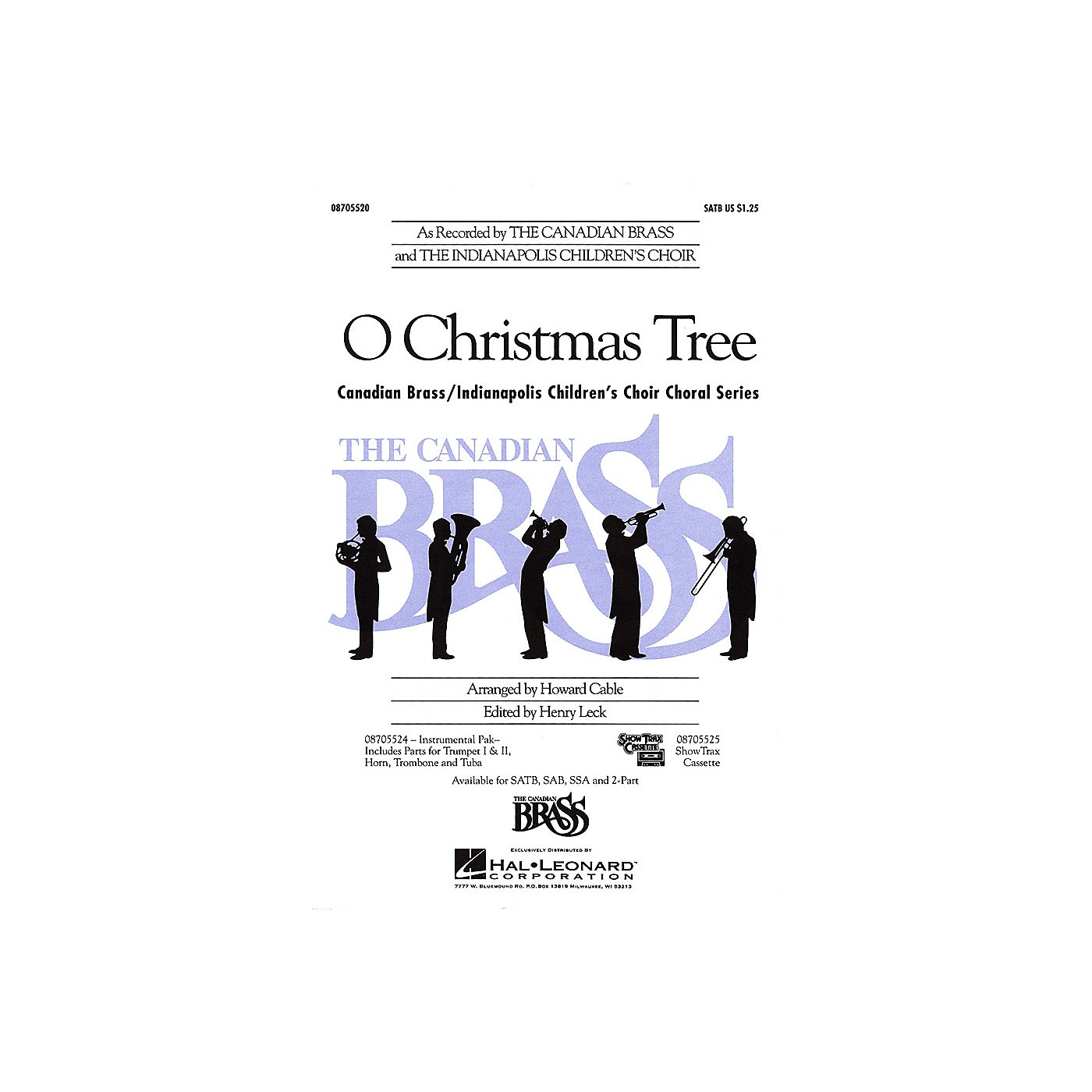 Hal Leonard O Christmas Tree 2-Part thumbnail