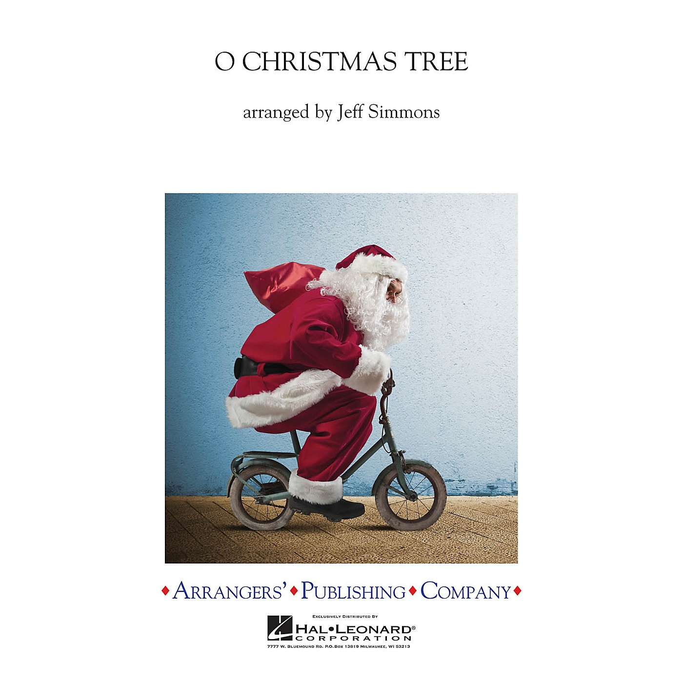 Arrangers O Christmas Tree Concert Band Level 3 Arranged by Jeff Simmons thumbnail