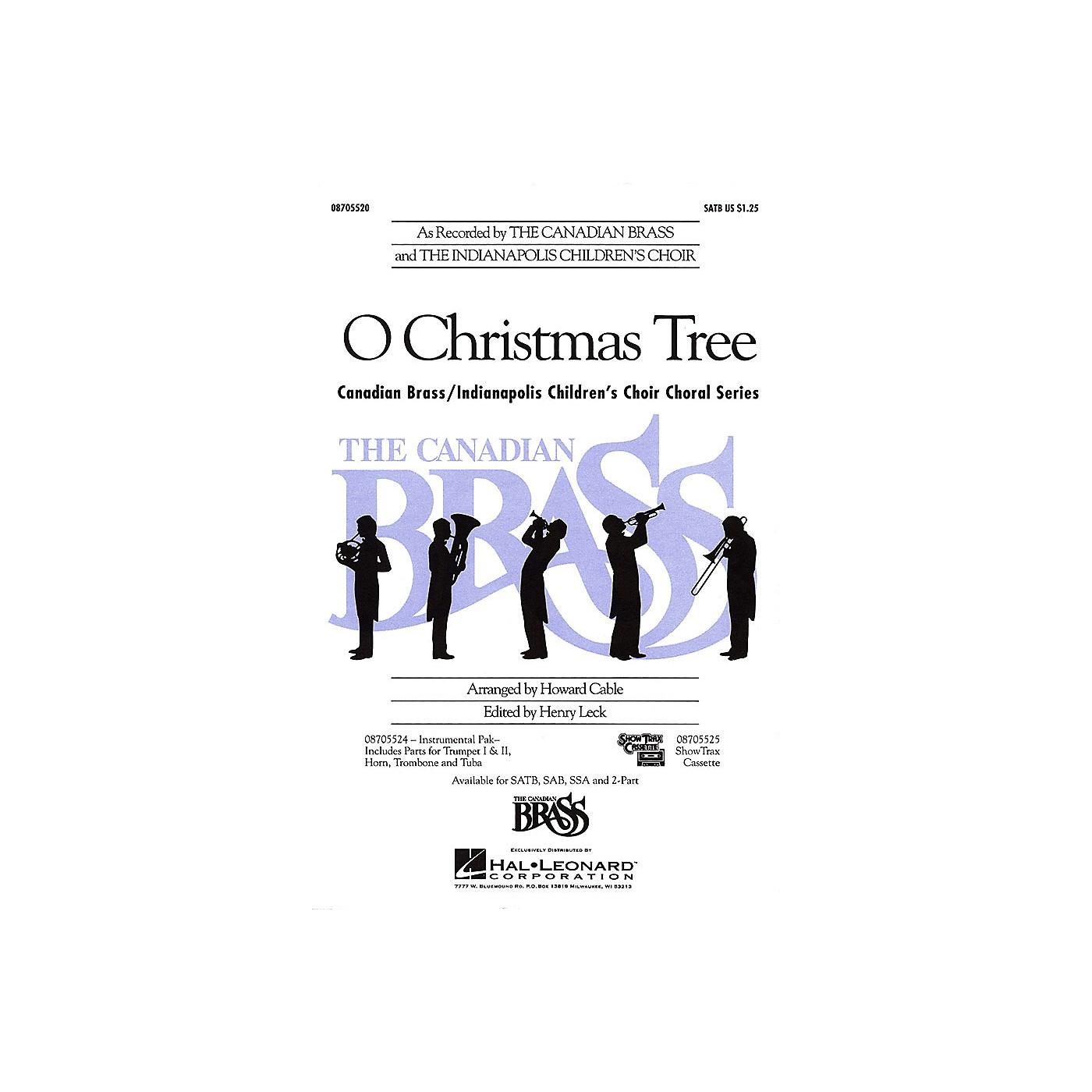 Hal Leonard O Christmas Tree SATB thumbnail