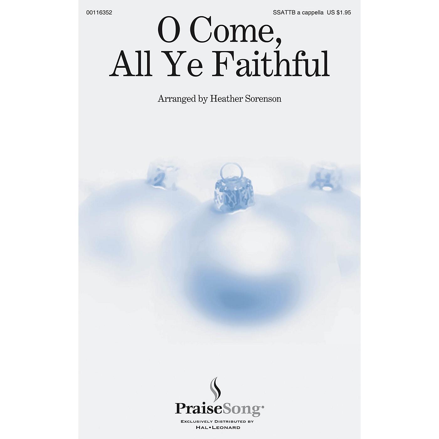 PraiseSong O Come, All Ye Faithful SSATTB A Cappella arranged by Heather Sorenson thumbnail