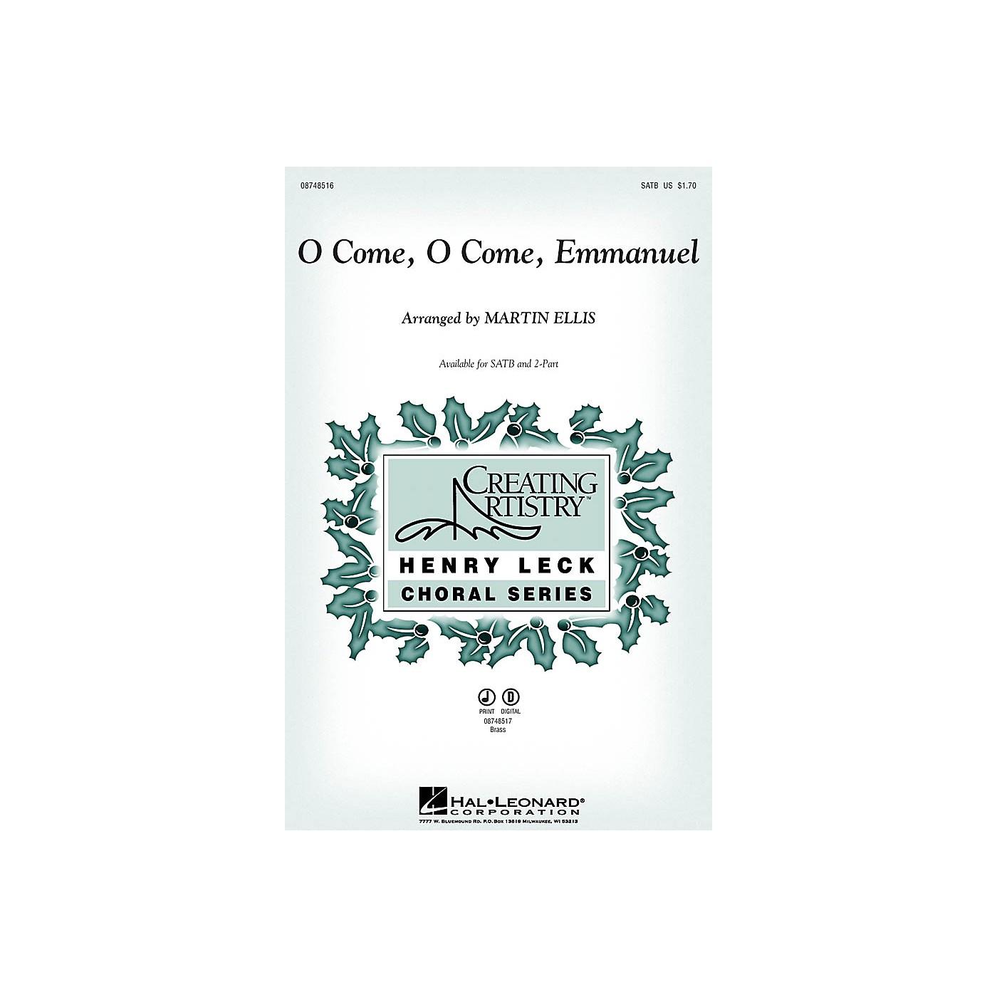 Hal Leonard O Come, O Come, Emmanuel IPAKB Arranged by Martin Ellis thumbnail