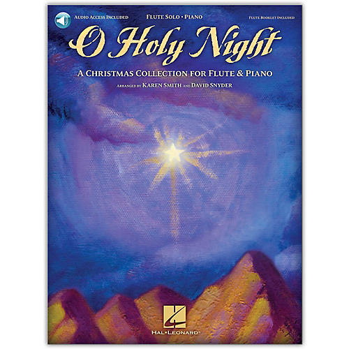 Hal Leonard O Holy Night (A Christmas Collection for Flute & Piano) Book/Online Audio thumbnail