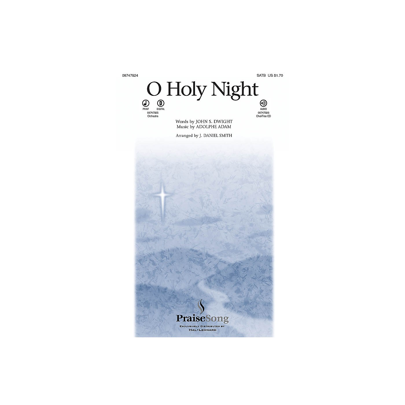 PraiseSong O Holy Night CHOIRTRAX CD Arranged by J. Daniel Smith thumbnail