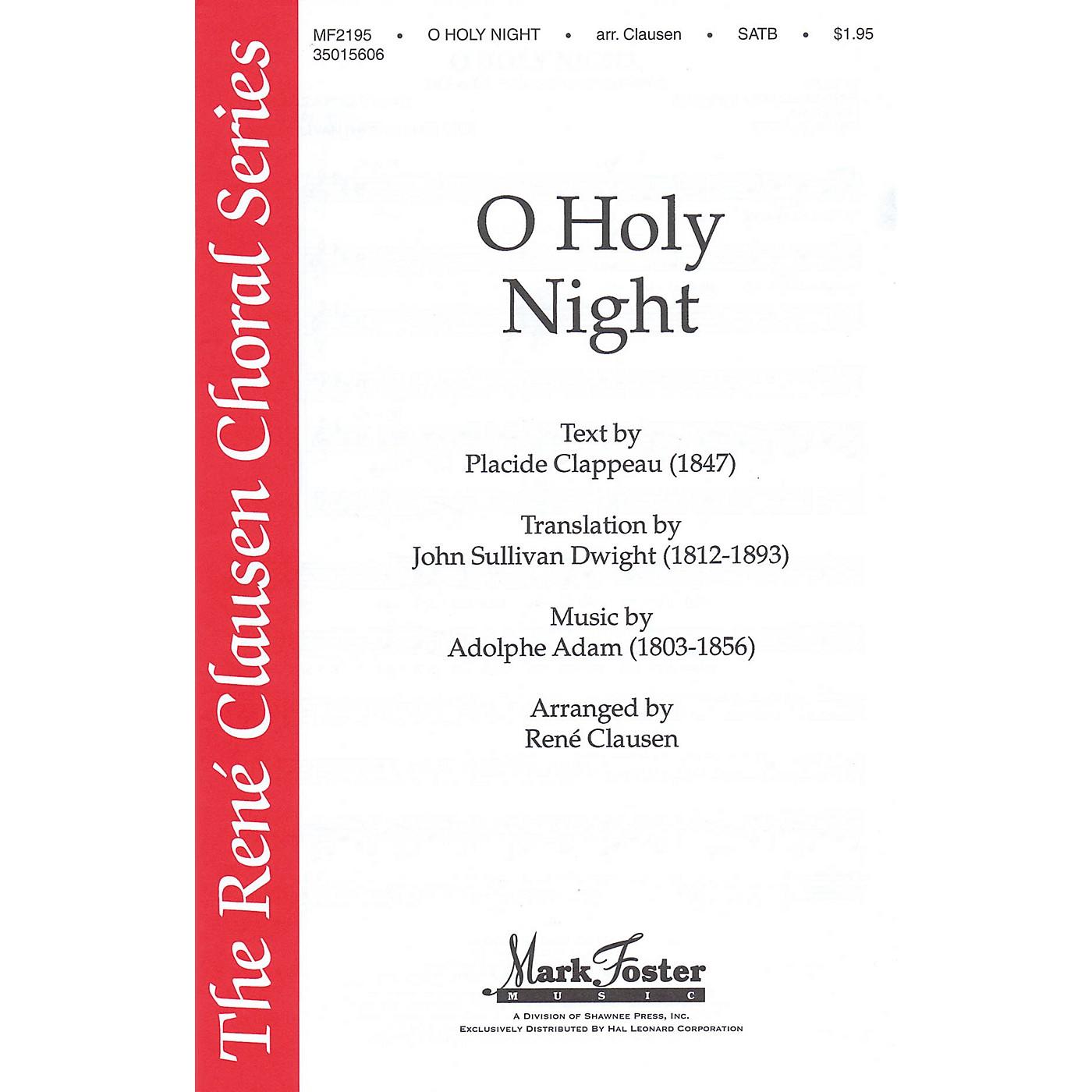 Shawnee Press O Holy Night (René Clausen Series) SATB arranged by René Clausen thumbnail