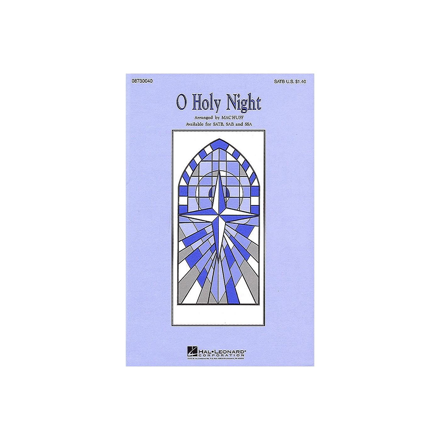 Hal Leonard O Holy Night SATB arranged by Mac Huff thumbnail
