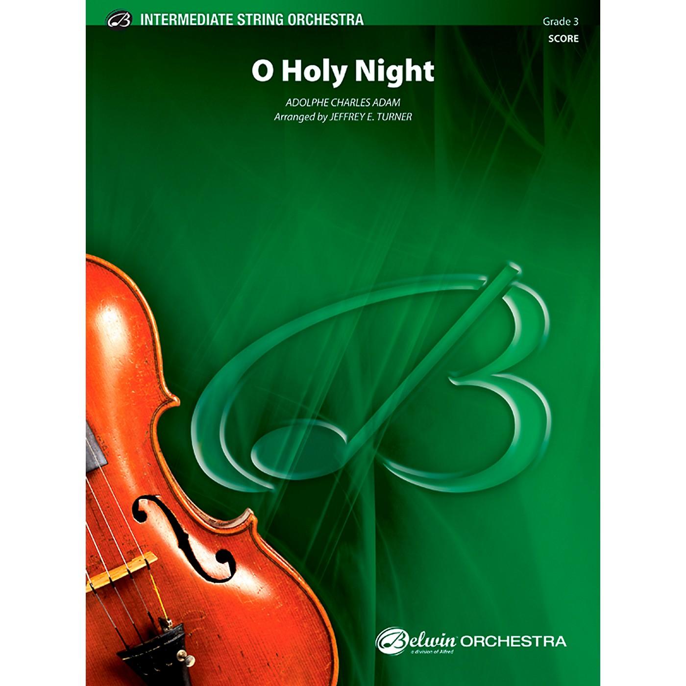 Alfred O Holy Night String Orchestra Grade 3 Set thumbnail