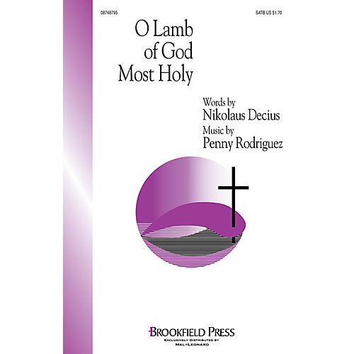 Brookfield O Lamb of God Most Holy SATB composed by Penny Rodriguez thumbnail