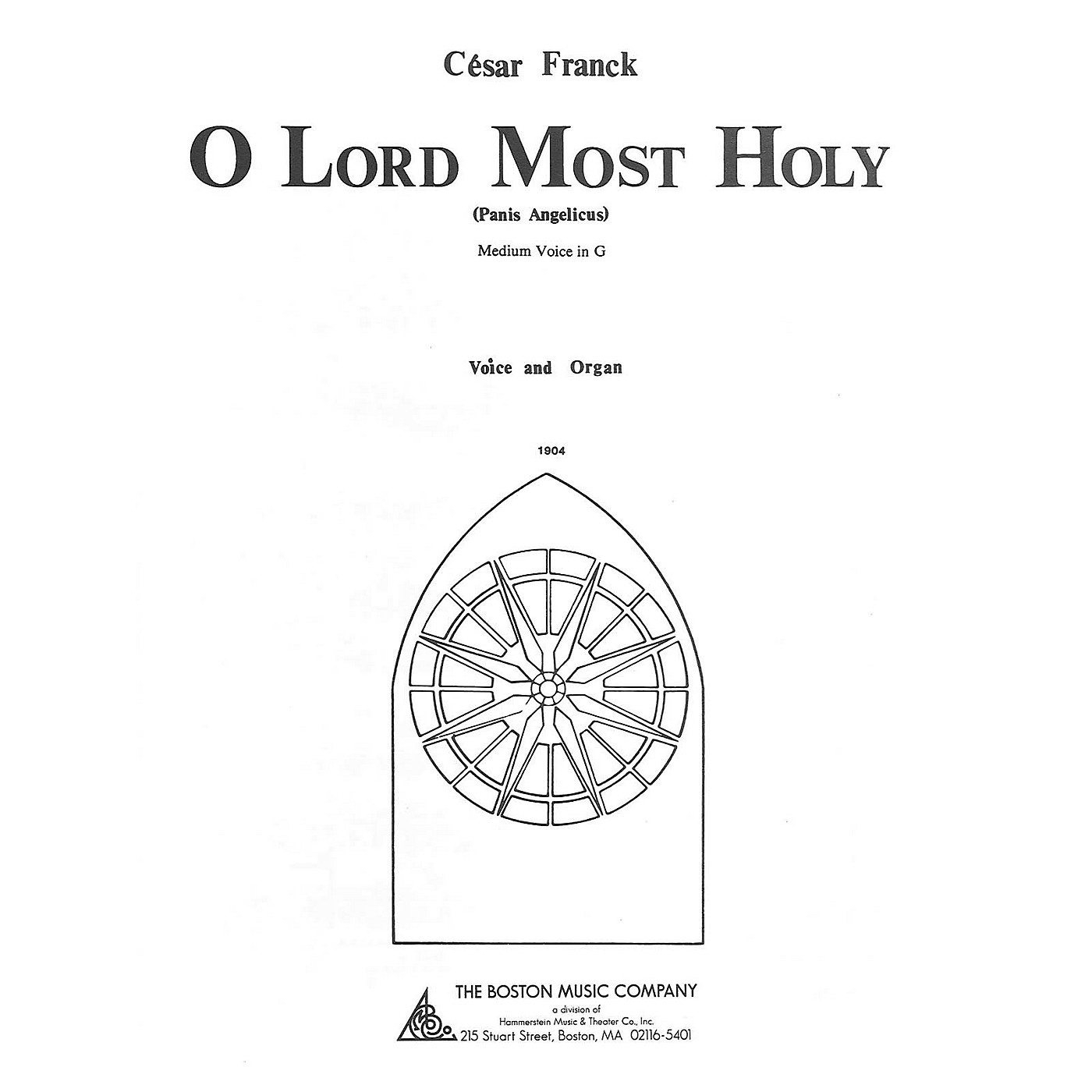 Music Sales O Lord Most Holy Music Sales America Series thumbnail