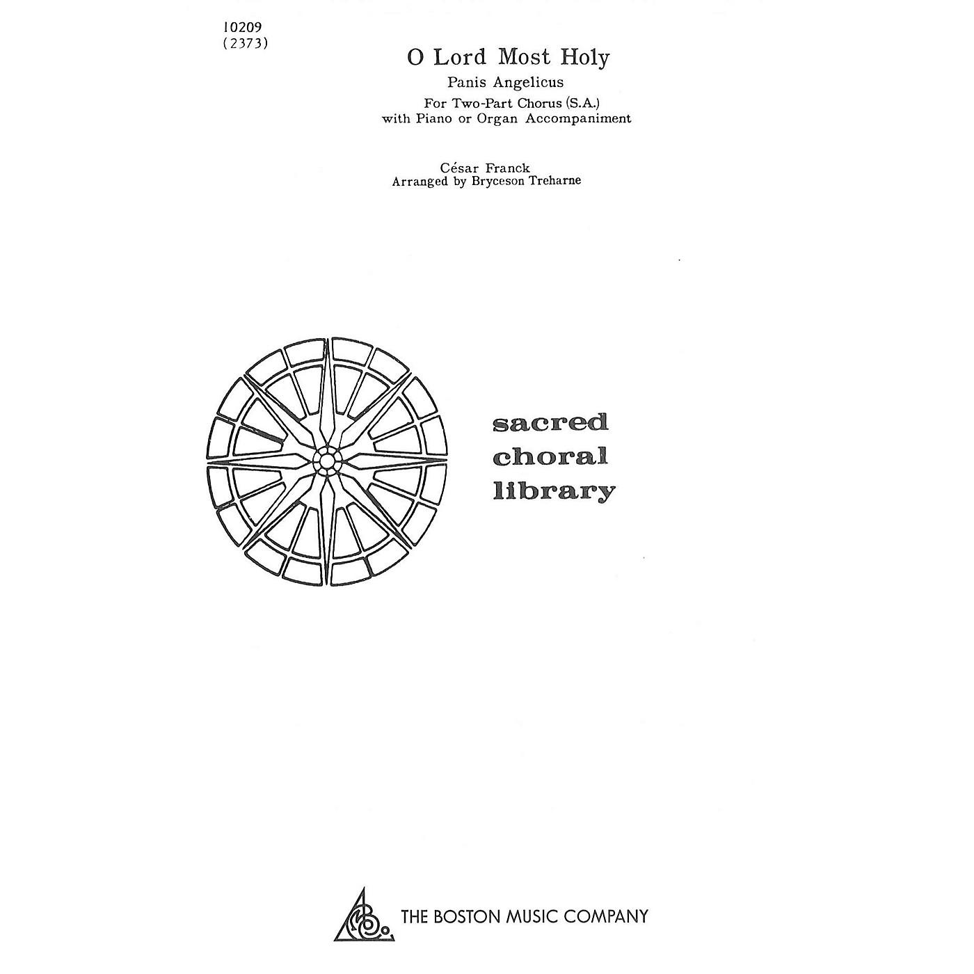 Music Sales O Lord Most Holy (Panis Angelicus) SA thumbnail