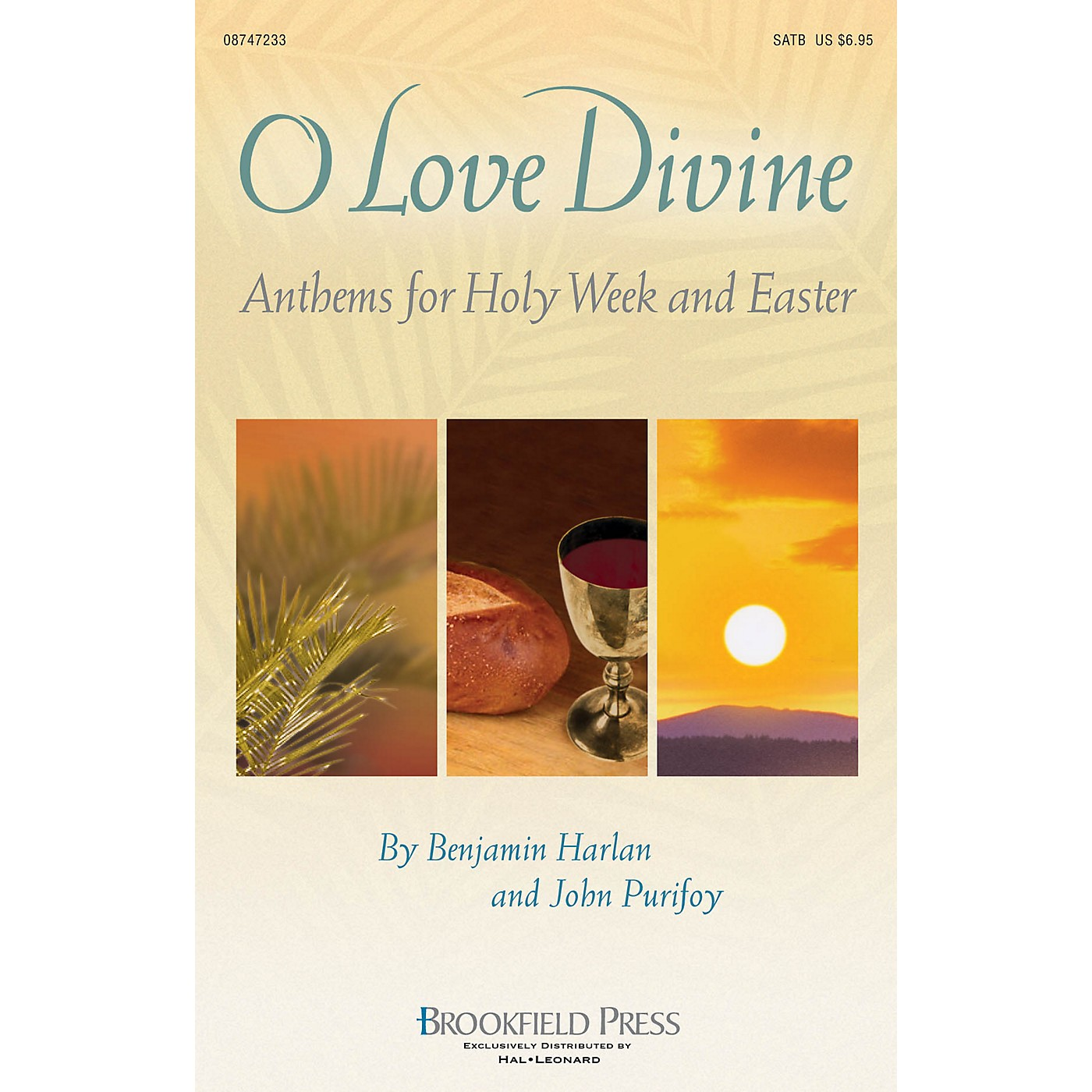 Brookfield O Love Divine (Anthems for Holy Week and Easter) CD 10-PAK Arranged by Benjamin Harlan thumbnail