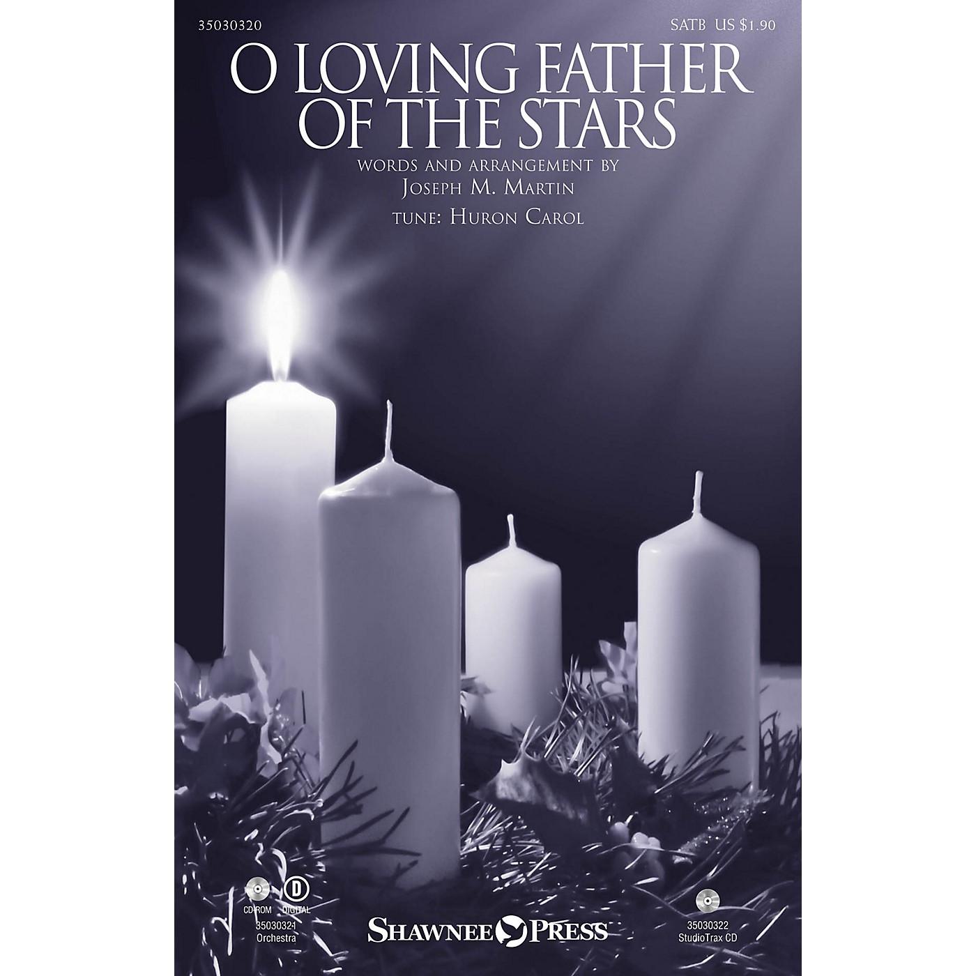 Shawnee Press O Loving Father of the Stars ORCHESTRA ACCOMPANIMENT Arranged by Joseph M. Martin thumbnail