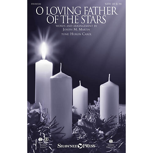 Shawnee Press O Loving Father of the Stars ORCHESTRA ACCOMPANIMENT Arranged by Joseph M. Martin thumbnail