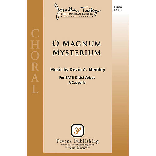 Pavane O Magnum Mysterium SATB a cappella composed by Kevin A. Memley thumbnail