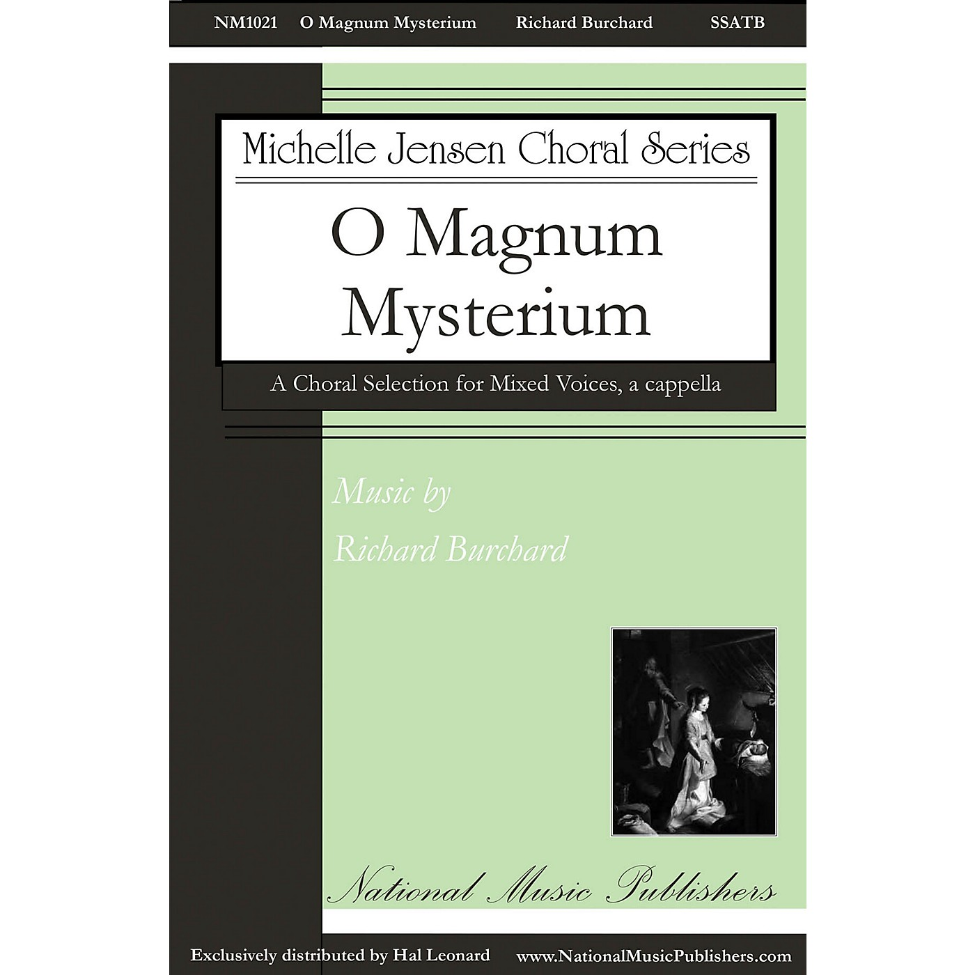 National Music Publishers O Magnum Mysterium SSATB A Cappella composed by Richard Burchard thumbnail