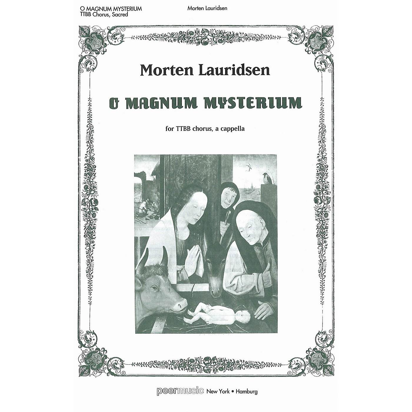 Peer Music O Magnum Mysterium TTBB Composed by Morten Lauridsen thumbnail