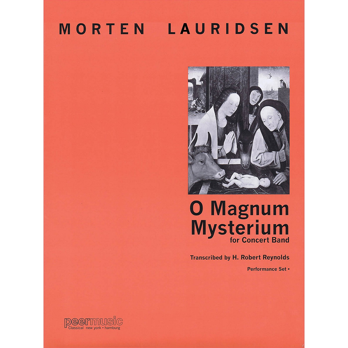 Peer Music O Magnum Mysterium (for Concert Band) Concert Band Level 4 Composed by Morten Lauridsen thumbnail