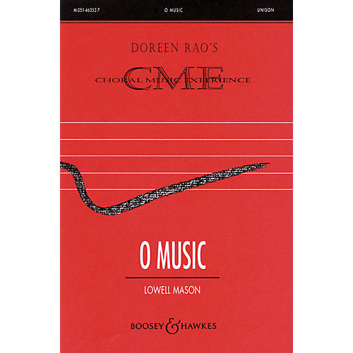 Boosey and Hawkes O Music (CME Beginning) SSA composed by Lowell Mason arranged by Doreen Rao thumbnail