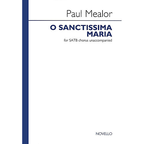 Novello O Sanctissima Maria SATB thumbnail