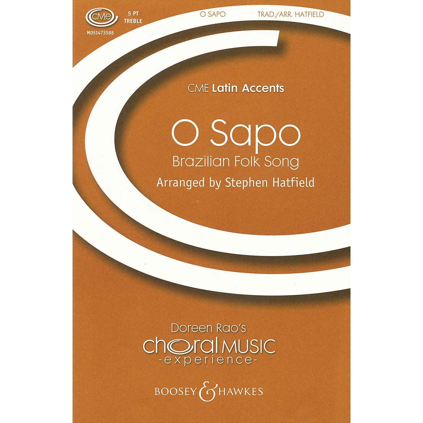 Boosey and Hawkes O Sapo (CME Latin Accents) 5-PART TREBLE A CAPPELLA arranged by Stephen Hatfield thumbnail