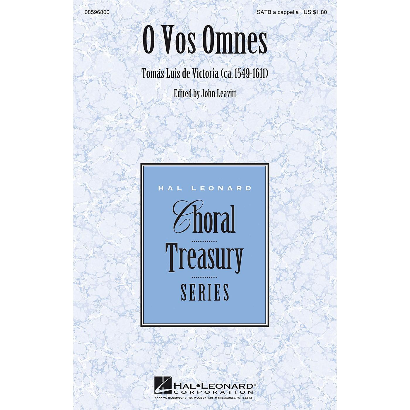 Hal Leonard O Vos Omnes SATB a cappella composed by Tomás Luis de Victoria thumbnail