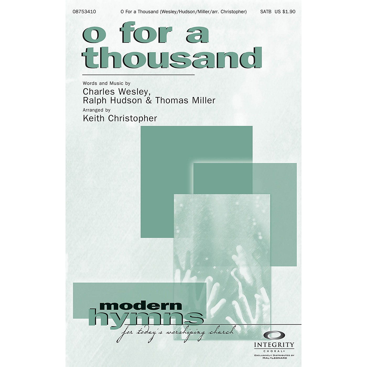 Integrity Choral O for a Thousand CD ACCOMP Arranged by Keith Christopher thumbnail