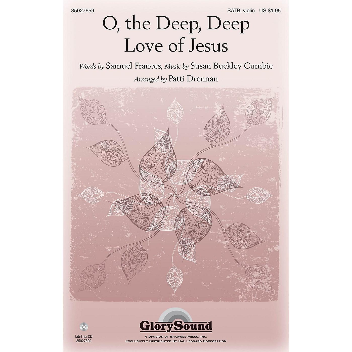 Shawnee Press O the Deep, Deep Love of Jesus SATB, VIOLIN arranged by Patti Drennan thumbnail