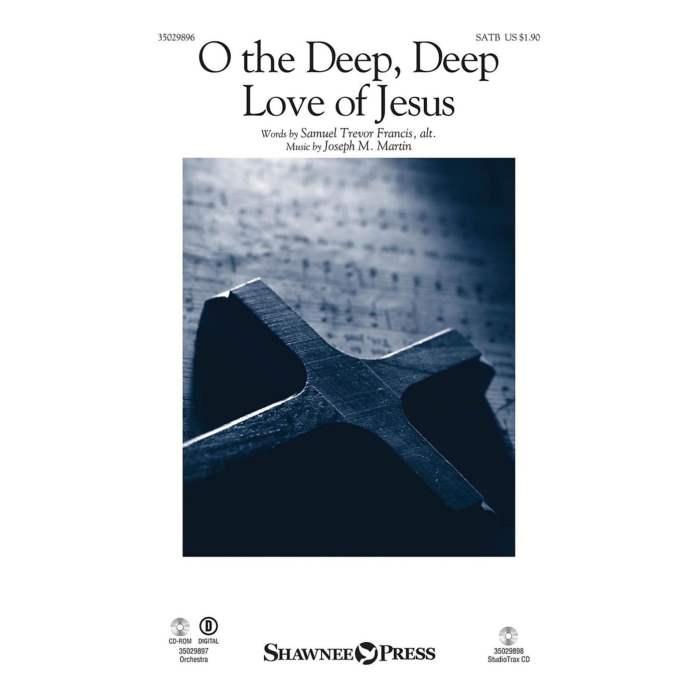 Shawnee Press O the Deep, Deep Love of Jesus Studiotrax CD Composed by Joseph M. Martin thumbnail