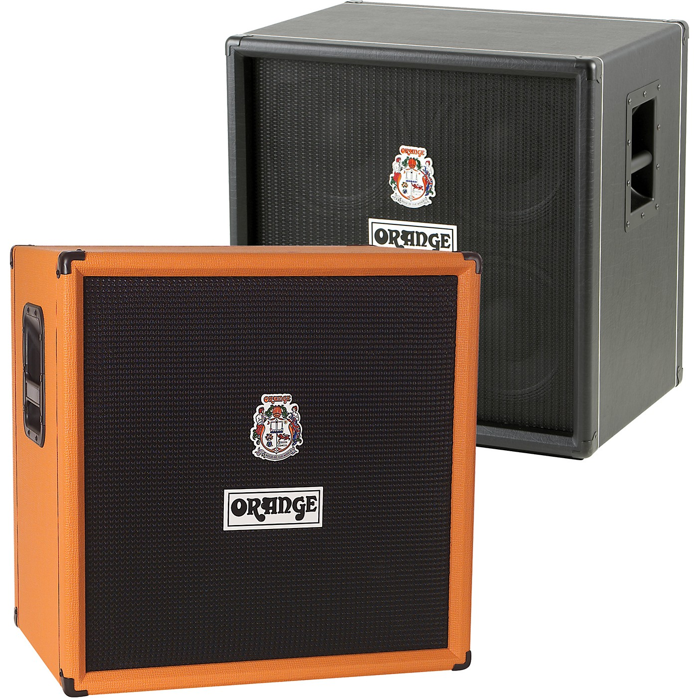 Orange Amplifiers OBC Series OBC410 600W 4x10 Bass Speaker Cabinet thumbnail