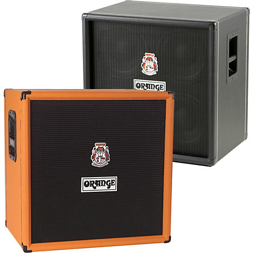 Orange Amplifiers OBC Series OBC410 600W 4x10 Bass Speaker Cabinet-thumbnail