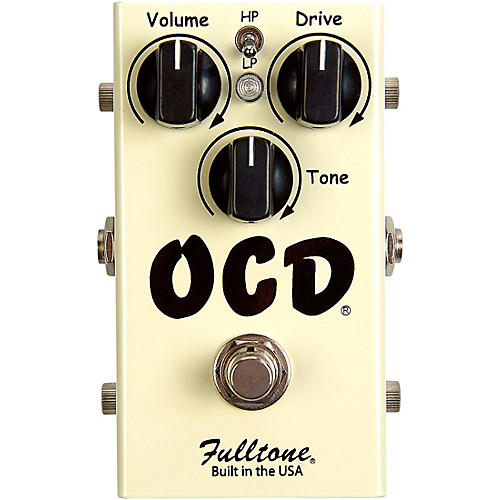 Fulltone OCD Obsessive Compulsive Drive Overdrive Guitar Effects Pedal thumbnail