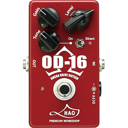 HAO OD-16 Omega Drive Sixteen Overdrive Guitar Effects Pedal thumbnail