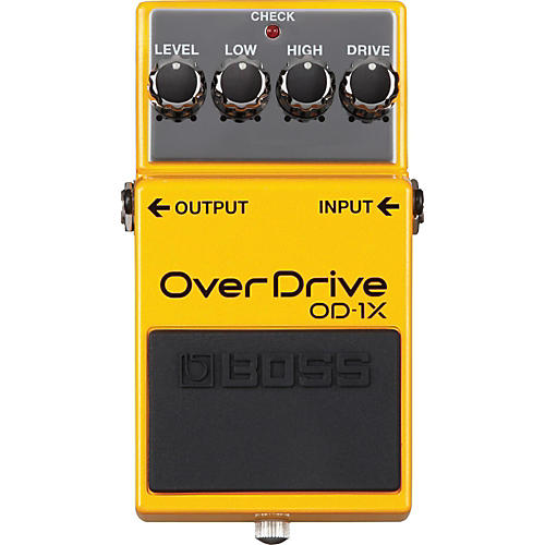 Boss OD-1X Overdrive Guitar Effects Pedal thumbnail
