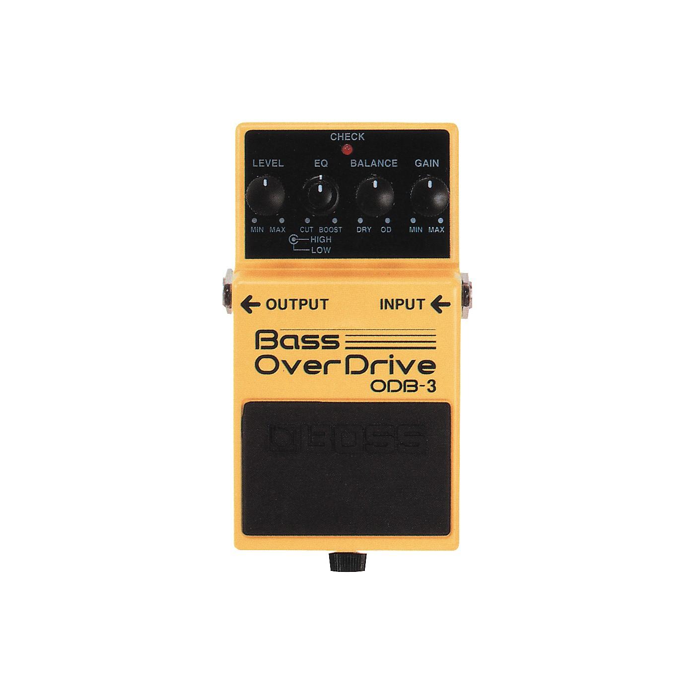 Boss ODB-3 Bass OverDrive Pedal thumbnail